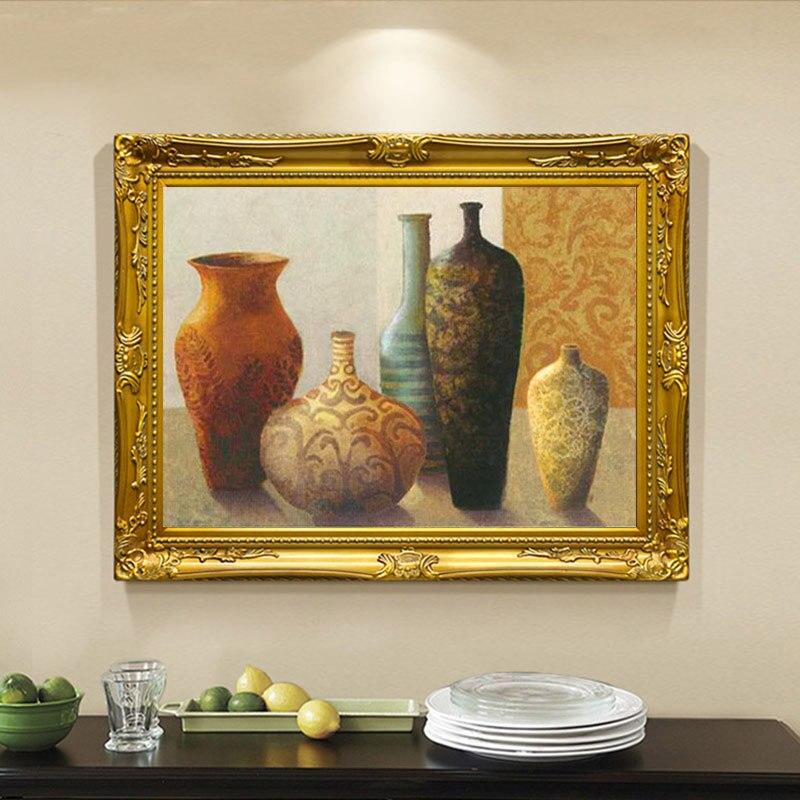 Pas encadré à la main peinture à l'huile céramique sur toile peinture pour salon chambre décor Art mural