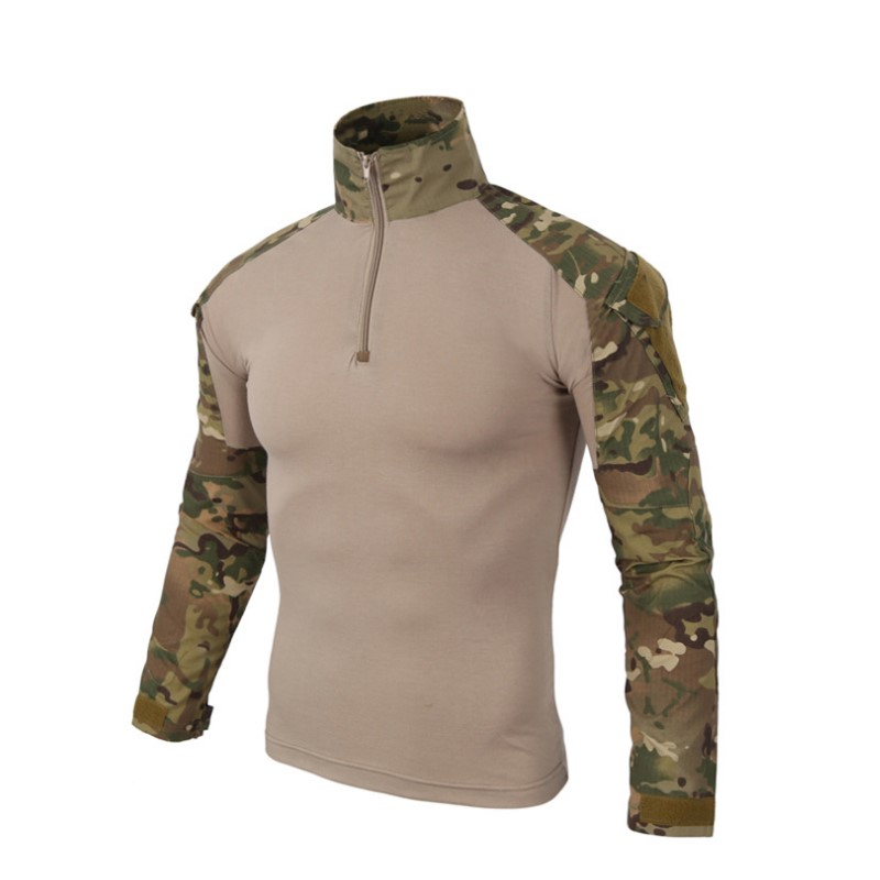 In Army Tactical Military Uniform Airsoft Combat-proven Shirts Rapid Assault Long Sleeve Shirt America Tactica Shirts Frog Clothing Superior Quality