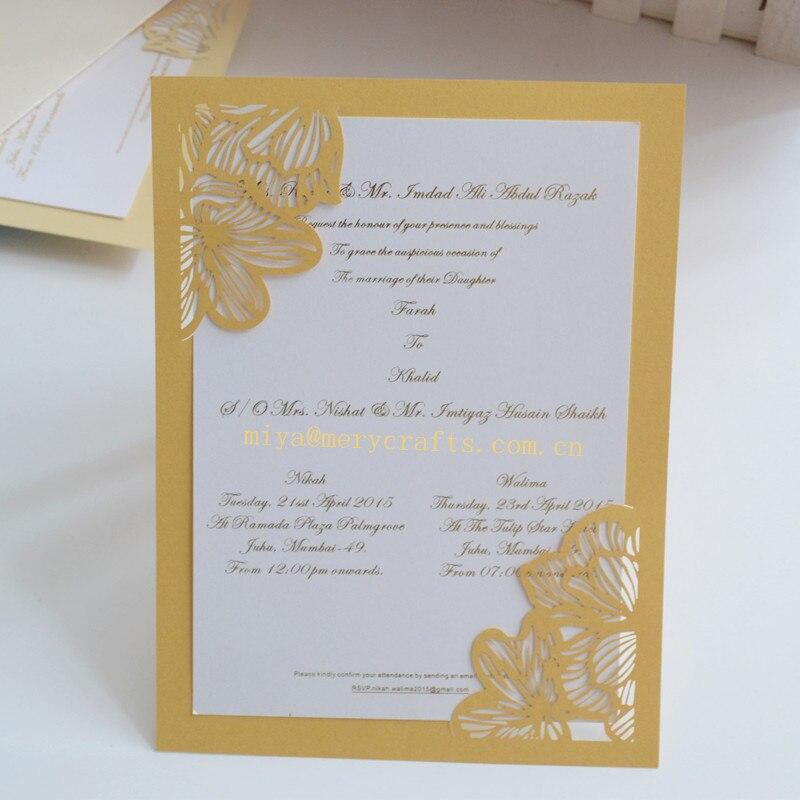 HOT mint green peach laser cut pocket elegant birthday invitations