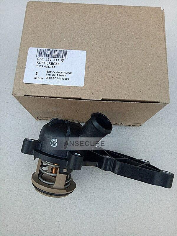 Moteur de refroidissement thermostat POUR Audi A4 B7 C6 A6 A8 2.4 2.8 3.2 06E 121 111G/D