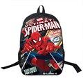 Superhero Spiderman Ironman Vingadores Capitão América Backapck Mochila Meninos Meninas Mochilas Escolares Mochilas Escolares Saco do homem-Aranha