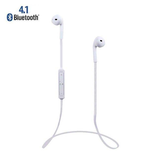 af201ec4f00 Alta calidad EarPods estéreo inalámbrico deportes Bluetooth 4.1 para  auriculares para el iphone 5 / 5S