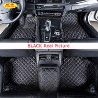 Ponsny автомобиля Коврики для BMW 1 3 5 7 класс F30 X1 X3 X5 X7 мини 320i 428i стайлинга автомобилей стопы Коврики пользовательские ковры