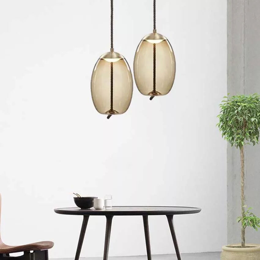 Modern Design Rope Glass Pendant Lights Led Pendant Lamp Living Room Restaurant Bar Kitchen Fixtures HangLamp Light LuminaireModern Design Rope Glass Pendant Lights Led Pendant Lamp Living Room Restaurant Bar Kitchen Fixtures HangLamp Light Luminaire