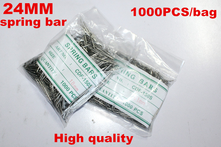 Wholesale 1000PCS / Bag High Quality Watch Repair Tools & Kits 24MM  Spring Bar Watch Repair Parts -041415