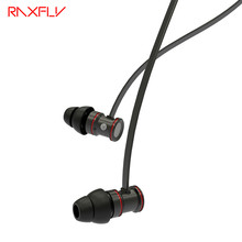 RAXFLY K3 Bluetooth In Ear Headset For iPhone Samsung Android IOS Magnetic Earphone With Mic and Control Plating Stereo Earpiece