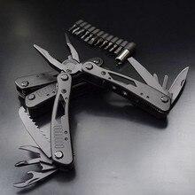 Безопасности автомобиля Многофункциональный Открытый выживания многофункциональный плоскогубцы нержавеющей Вольфрам сплав карманные мульти инструменты Ножи Набор для кемпинга