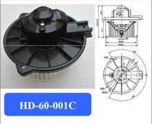Motor do ventilador de ar condicionado automotivo, Eletrônico ventilador/motor, prado 4500 blower motor