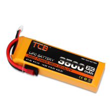 цена на TCB RC Lipo Battery 4S 14.8V 3500mAh 25C 35C For Drone RC Helicopter Airplane Quadrotor Car FPV High Rate RC Battery LiPo