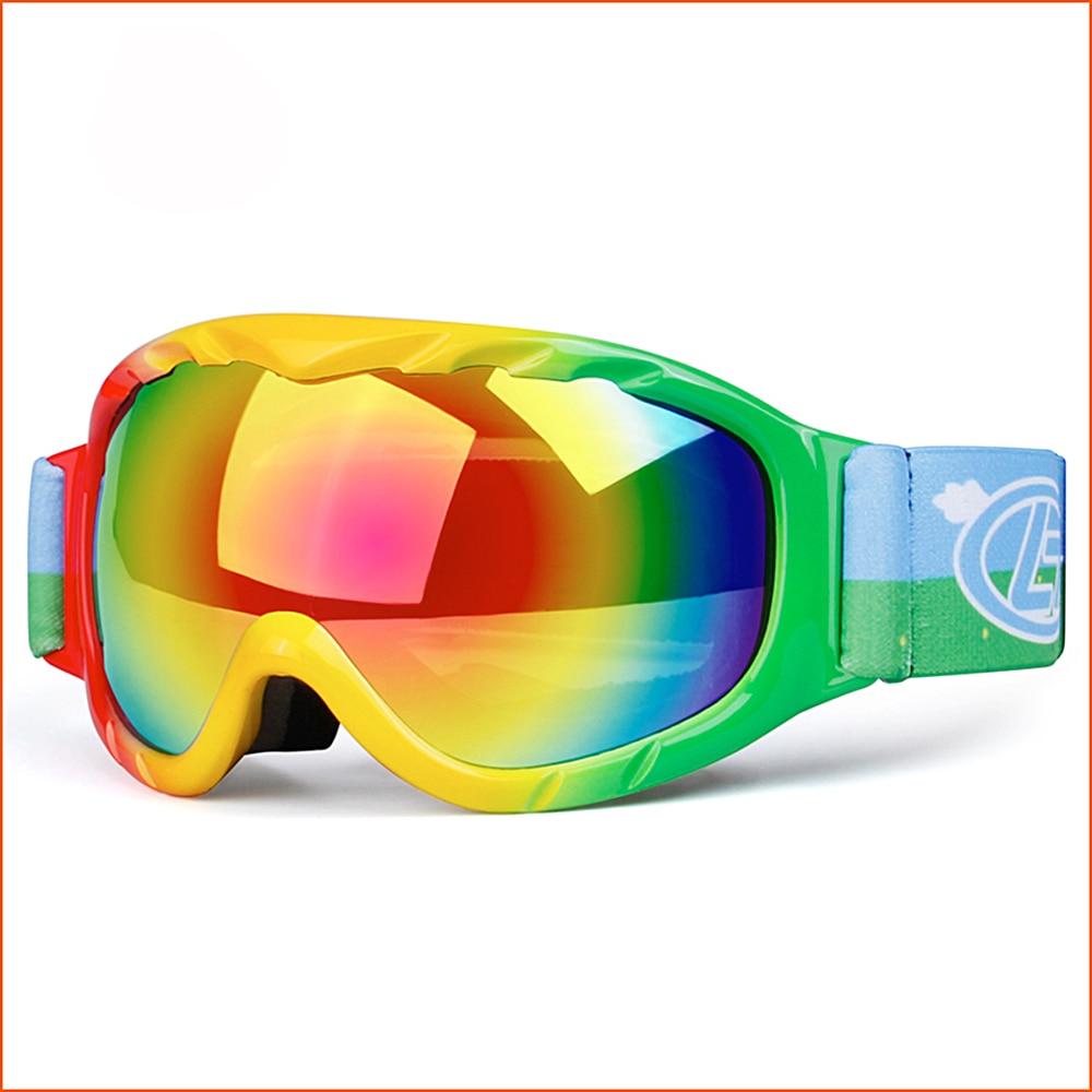 Lunettes de Ski Pour Enfants Motoneige Enfants Snowboard Lunettes lunettes de Ski Snowboard Masque D'hiver Lunettes antiparras nieve. A31