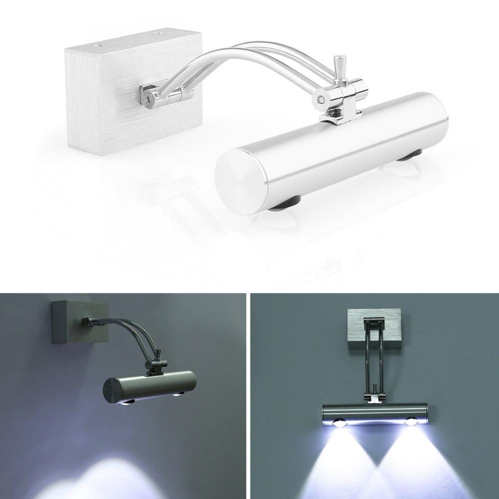 2w spiegelleuchte badleuchte power led wandlampe bad lampe spiegellampe strahler 85v 265v in led. Black Bedroom Furniture Sets. Home Design Ideas