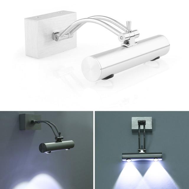 2W Spiegelleuchte Badleuchte Power LED Wandlampe Bad Lampe ...