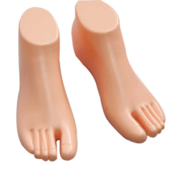 HOT 1 Pair Thong Style Female Foot Shoes Mannequin For Foot Sandal Shoe Display Tool NDS66