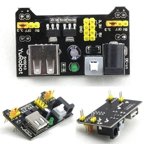 MB102 Power MB102 Breadboard Power Supply Module 3.3V 5V For Arduino Solderless Breadboard