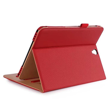 Retro Multifunction PU Leather Case Cover For Samsung Galaxy Tab S3 9.7 Case SM-T820 T825 with Hand Strap Cases+Card Slot Pocket цена