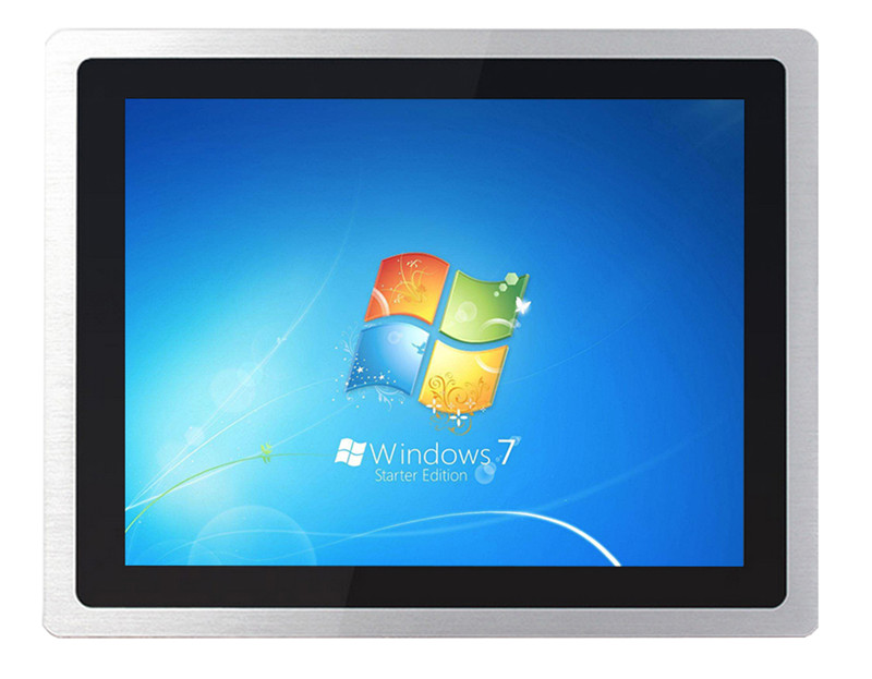 12 inch industrial pc open frame touch monitor ...