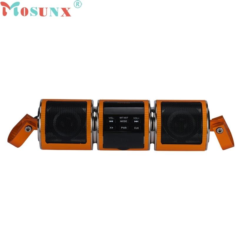 все цены на Mosunx A18 Mecall Tech New HOT Motorcycle Bluetooth Audio Sound System MP3 FM Radio Stereo Speakers Waterproof онлайн