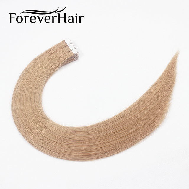 Forever Hair 2gpcs 18 Remy Tape In Hair Extensions Honey Brown 14
