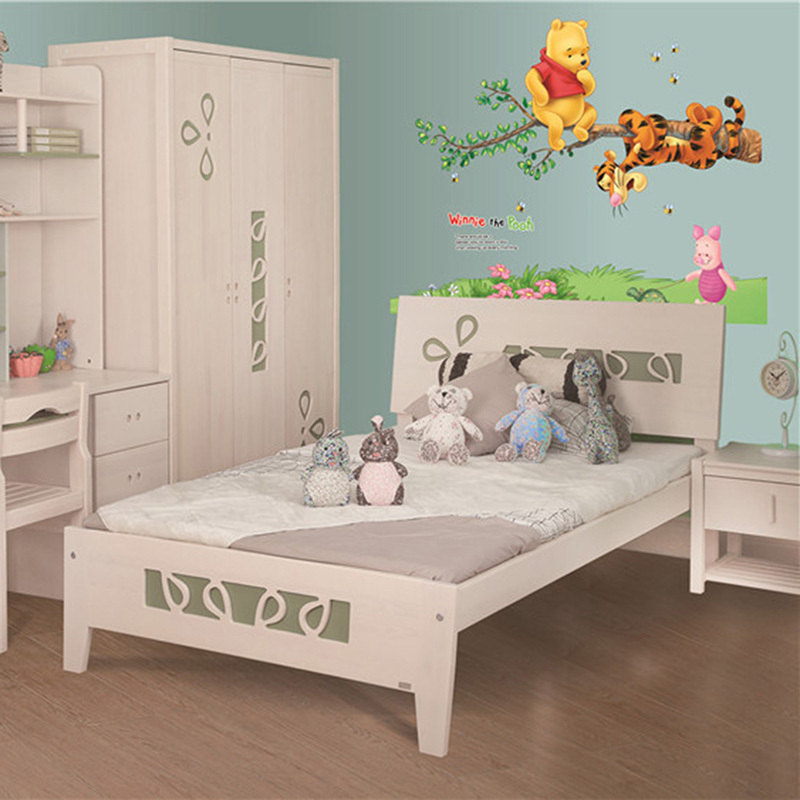 Lit bb winnie l ourson awesome le mobile winnie with lit for Stickers ourson chambre bebe