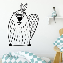 Hot mouse Stickers Home Decoration Nordic Style Accessories For Living Room allpaper Selling LW32