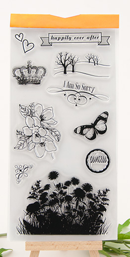 Transparent Clear Stamp Seal For DIY Paper Craft Photo Card Scrapbooking Hand Account silicone handwork art flower butterfly about lovely baby design transparent clear silicone stamp seal for diy scrapbooking photo album clear stamp paper craft cl 052