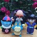 4 pcs PVC Figuras de Ação Dragon Ball Z Figuras Dragonball Z figura Brinquedos Dbz Tenkaichi Budokai Son Goku Mestre Kame Pilaf 3