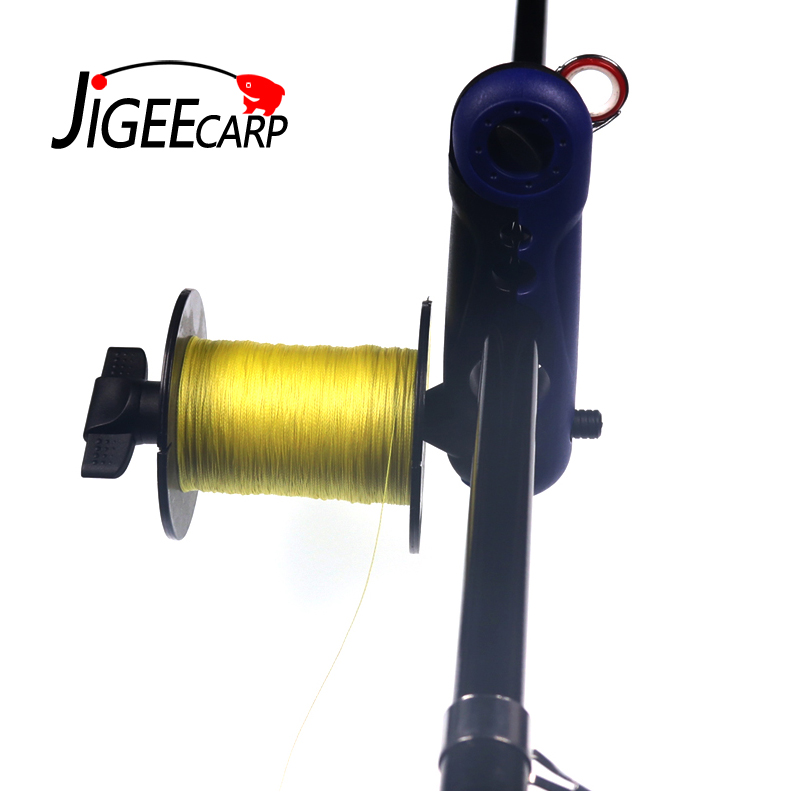 JIGEECARP 1pc Fishing Line Spooler For Rod Bobbin Reel Board Winder Reel Spool  Line Loading Spool Holder Carp Fishing Tools