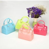 Summer Sweet Candy Silicone Jelly Handbags Purse Women Casual Tote Bags Ladies Crossbody Shoulder Beach Bags Girls Female Bolsas