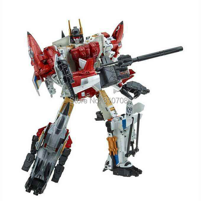 HZX Transformation G1 Superion IDW 5 IN 1 5IN1 Sets War Team KO Collection TF Action