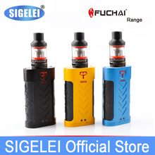 Super Vape Kit e eletronic Zigarette 220W SUPER POWER Mod + Atomizer Original Sigelei Fuchai Bereich Fuchai MT KIT