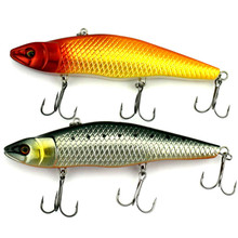 KKWEZVA 1pc 48 5g 14 8cm big Seawater Fishing Bait Minnow Hard Bait Tight Wobble Slow