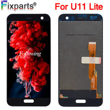 100% Tested NEW Black For HTC U11 Lite/Life LCD Display Touch Screen Digitizer Assembly Replacement  5.2