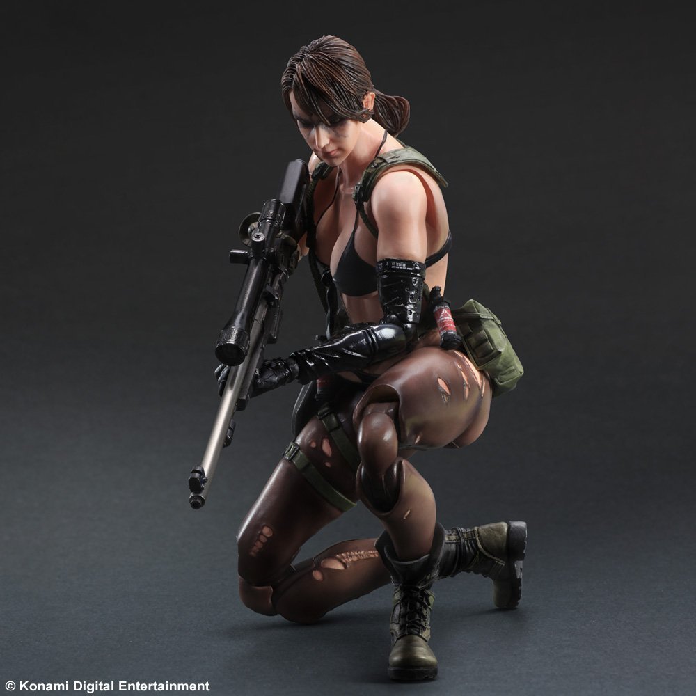 Phantom Pain Metal Gear Solid V Variants Play Arts Kai painted 1/6 scale Silent Doll PVC Action Figure Collectible Model Toy