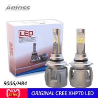 New Cr ee xhp70 P70 Autos Bulbs LED H7 H4 H11 H13 9004 9005 9006 9007 9003 HB3 HB4 5202 H16 LED Car Headlights with DHL shipment