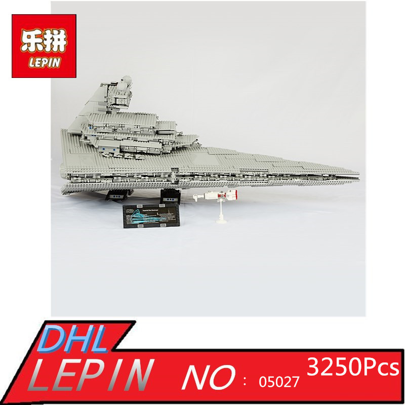 LEPIN 05027 3250pcs Star Series Wars Emperor Fighters Starship Model Building Blocks Bricks Assembling Toy Compatible with 10030 05027 3250pcs star series wars classic emperor fighters starship model building blocks bricks toy compatible 10030 lepin
