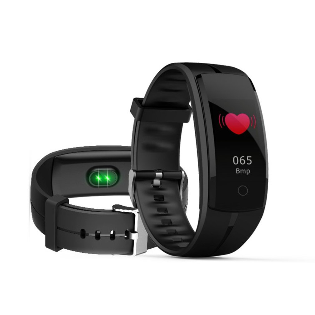 QS100 Smart Bracelet Heart Rate Monitor Fitness Tracker Smart Band Wristband For Android IOS Men Women Outdoor Sport Watches