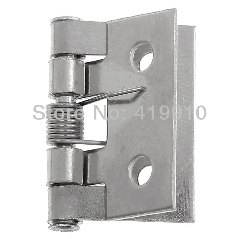 Free Shipping-30pcs Door Butt Hinges(rotated from 0 degrees to 330 degrees) Silver Tone 4 Holes 26mm x 18mm(1 x 6/8), M01334 free shipping 20pcs antique bronze hardware 4 holes diy box butt door hinges not including screws 29x27mm j3018