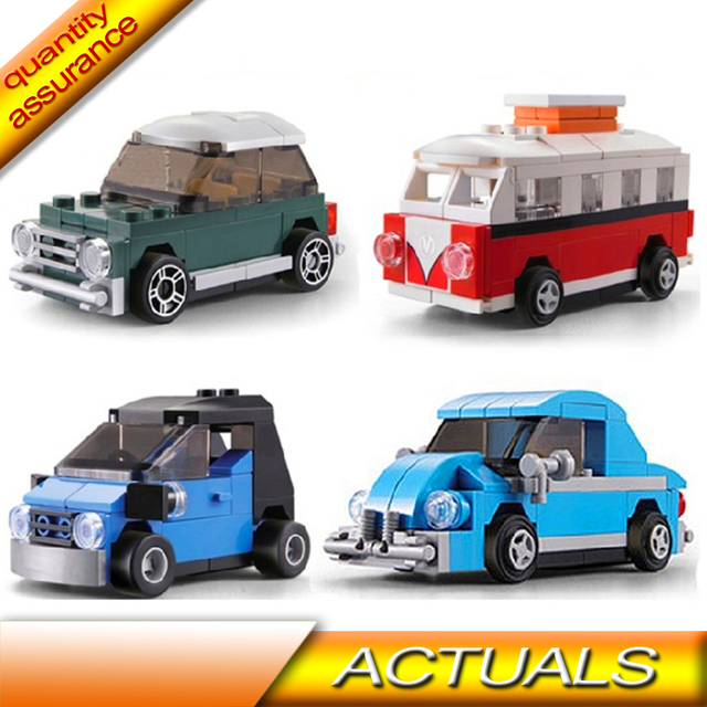 Compatible With Lego Decool 4pcslot Technic Creator Mini Camper Van