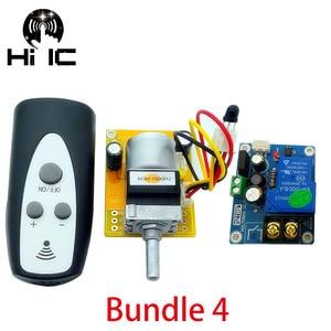 Image 3 - Latest Version HiFi Infrared Remote Control Volume Control Adjust Board APLS Amplifier Preamp Motor Potentiometer Adjusts Volume