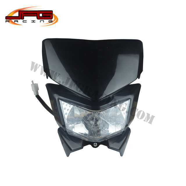 Headlight  Headlamp Street Fighter for Offroad Motorcycle Pit Dirt Bike Enduro