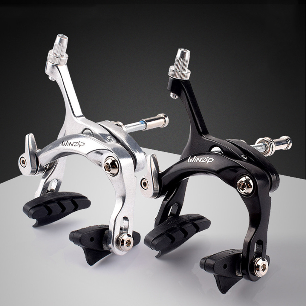 A Pair Front /& Rear Bicycle Side Pull Brake Road Bike C Calipers Rim Brakes