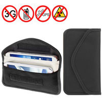 Anti Spy Signal Blocker Pouch Stop Cell Phone GPS RFID Tracking Bugging Bag Protect Privacy For