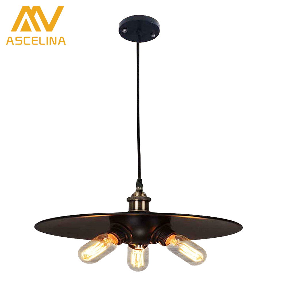 New Pendant Light Industrial Retro Pendant Lamp Creative Three Head Metal Living Room Dining Room Study Bedroom Lighting mediterranean candle pendant lamp iron pendant light living room dining room bedroom study room indoor lighting e14 lamp hold