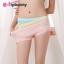 Aipbunny New Wholesale Sexy Panties Cotton Underwear Women lingerie Candy Color big Girls female soft Breathable Briefs