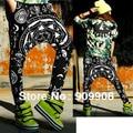 New Fashion Womens Casual Printing Harem Baggy HipHop Trousers Dance Slacks SweatPants