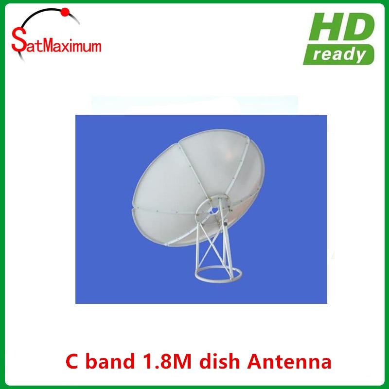 Prime Focus C Band 6 Feet 180cm Diameter Satellite Dish Antenna 18m