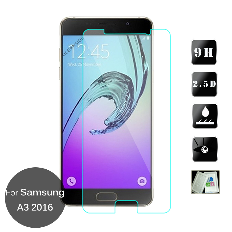 2PCS For <font><b>Samsung</b></font> <font><b>Galaxy</b></font> <font><b>A3</b></font> <font><b>2016</b></font> Tempered Glass Screen Protector 9h Safety Glass Cover on A 3 6 <font><b>A310F</b></font> <font><b>SM</b></font>-A310 <font><b>SM</b></font>-<font><b>A310F</b></font> image