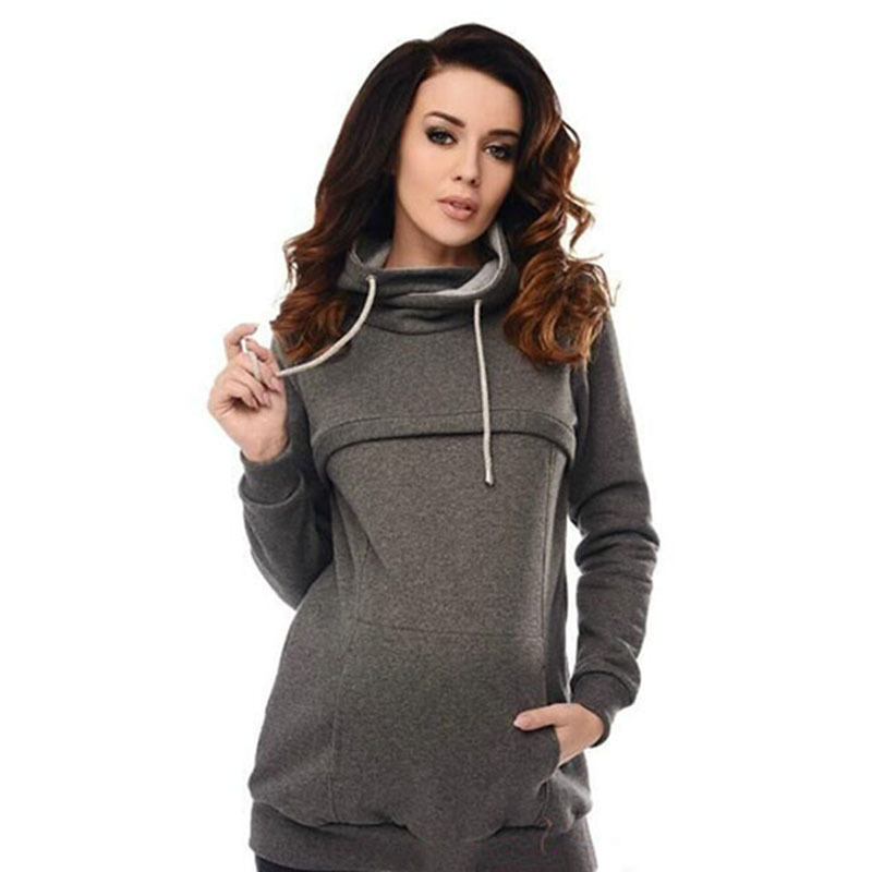 c0f39b40b9d0c Detail Feedback Questions about Autumn Winter Nursing Hooded Maternity  Hoodies For Pregnant Women Clothes Breastfeeding Pregnancy Feeding Coat  Lactation ...