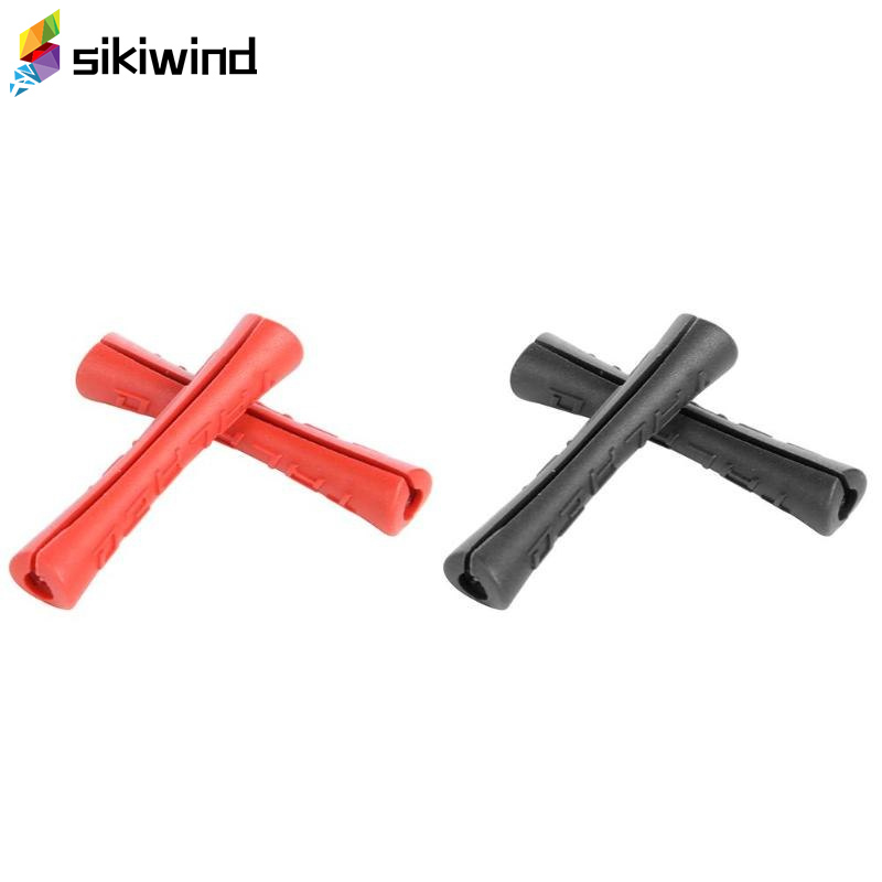 2pcs/pack Bicycle Sleeve Plastic Cable Protector For Pipe Line Brake Shift Ultralight MTB Frame Protective Cable Guides Cover D3