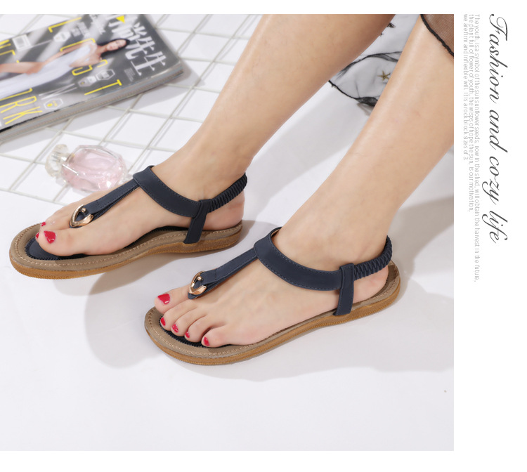 HTB1HsMmCStYBeNjSspkq6zU8VXaC BEYARNE size 35-42 new women sandal flat heel sandalias femininas summer casual single shoes woman soft bottom slippers sandals